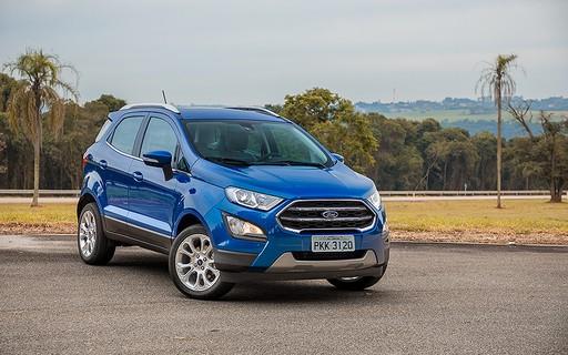Foto do carro Ford Ecosport para ilustrar o texto Conheça quais são os x carros 4x4 mais baratos do Brasil