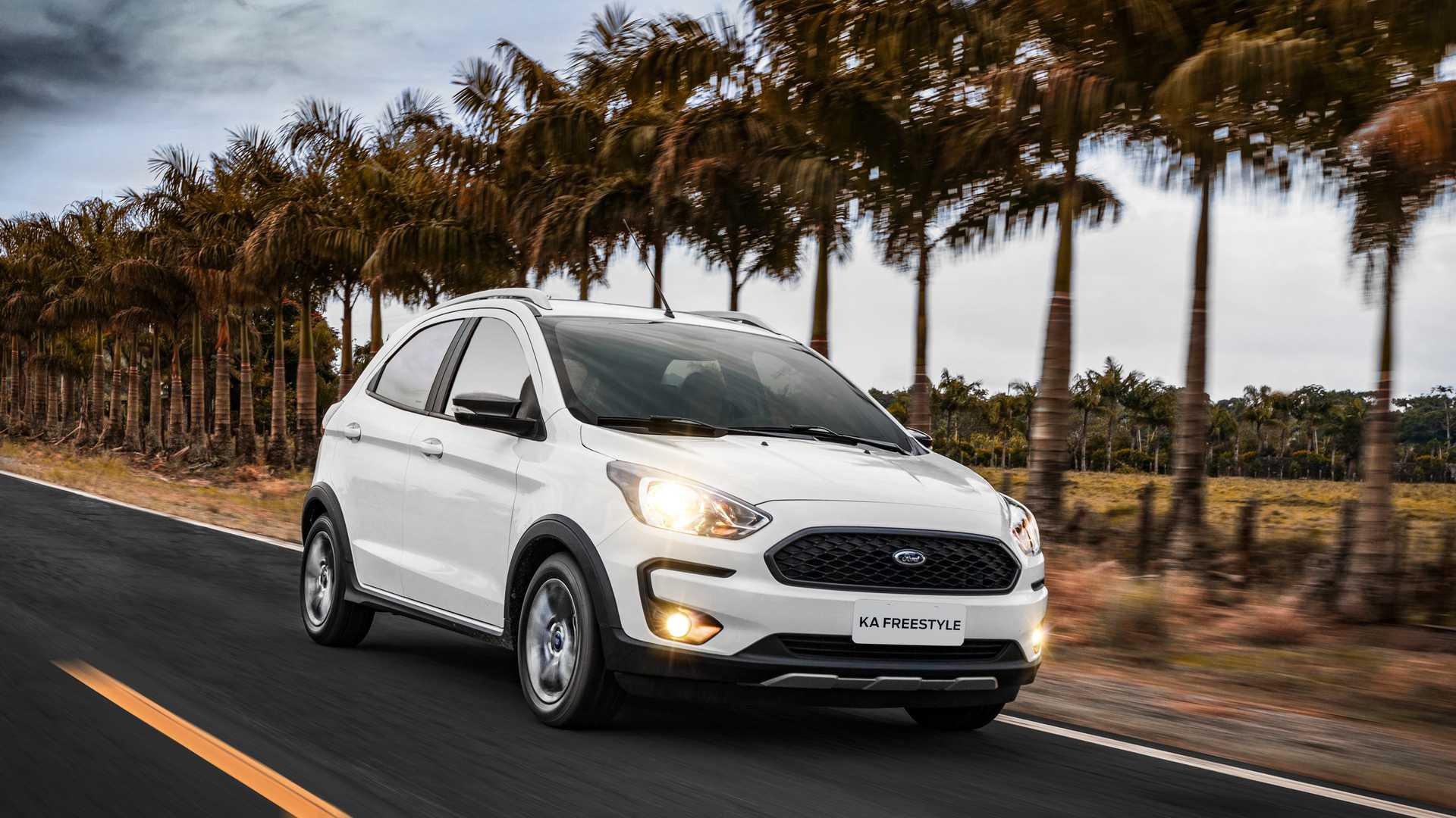 Foto do carro Ford Ka para ilustrar o texto Descubra os 10 carros mais econômicos do Brasil em 2020