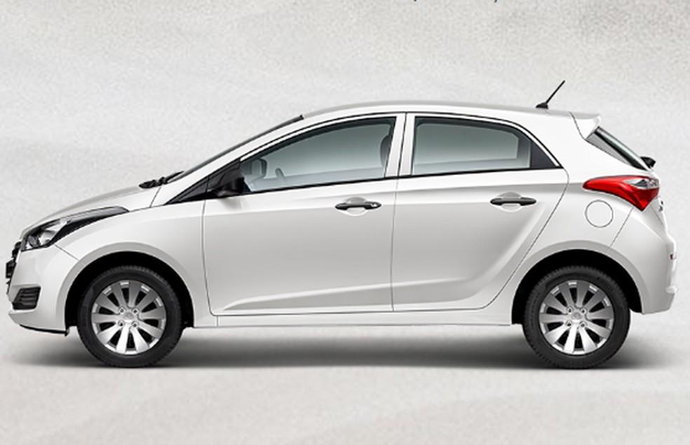 Foto para ilustrar o texto sobre carro para jovem