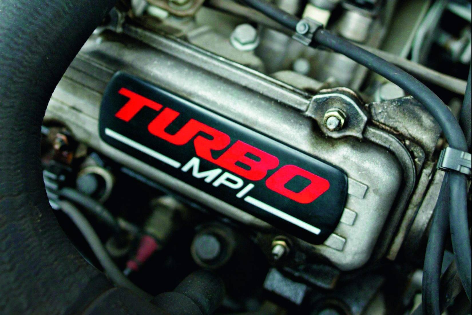 A imagA imagem mostra um modelo de motor turbo. Foto para ilustrar o texto sobre tipos de motores de carros