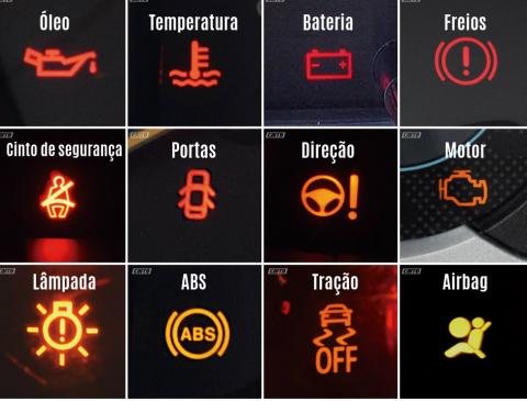 Imagem para ilustrar o texto sobre o que significa a luz da bateria acesa no painel