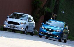 Imagem ilustrativa do texto Ford Ka ou Sandero: confira comparativo e veja qual combina com você