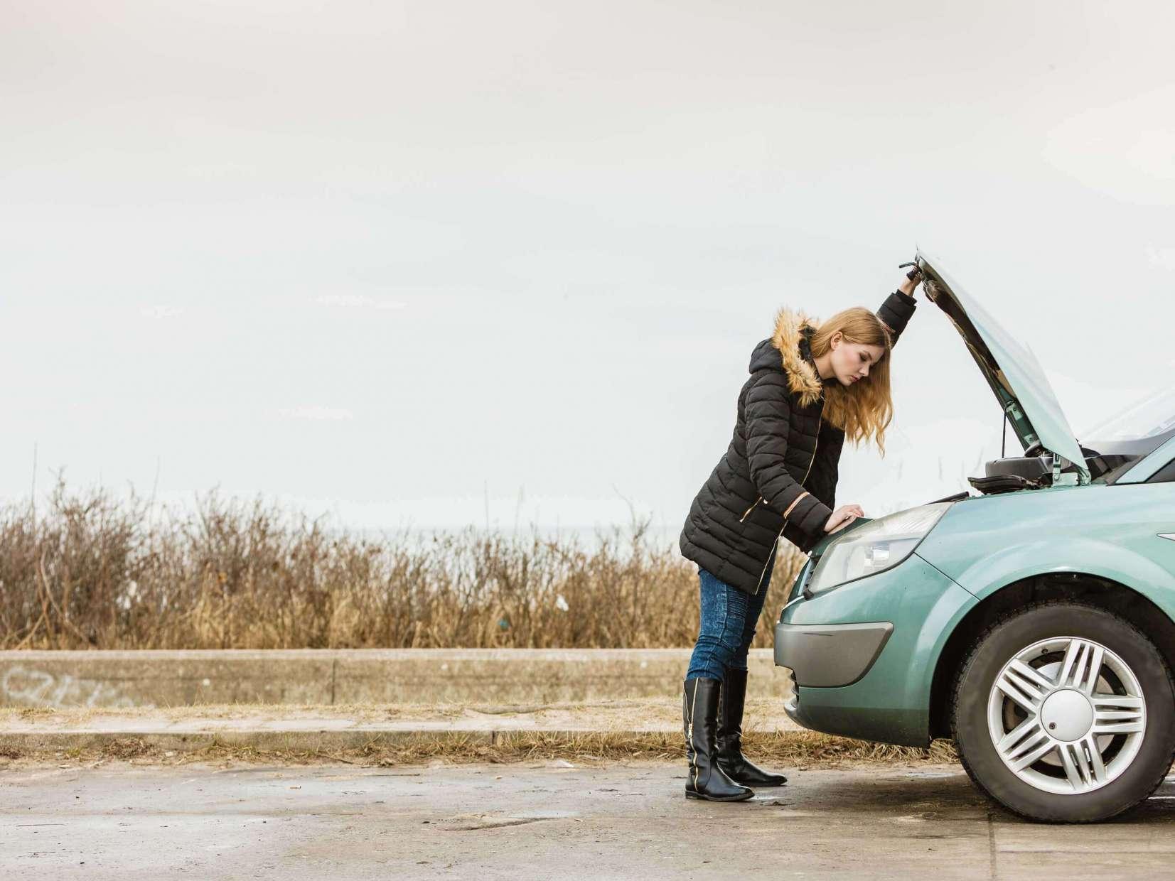 Imagem para ilustrar o texto sobre carro no inverno